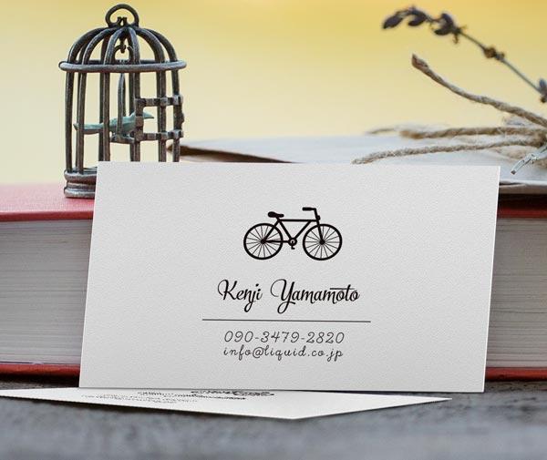 自転車名刺01 イメージ
