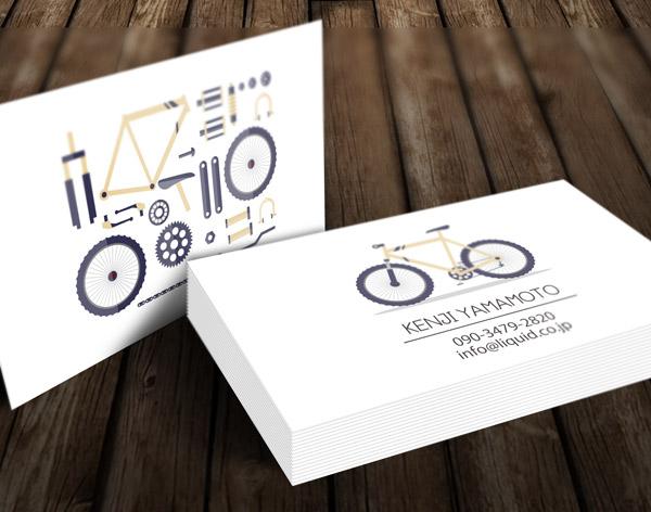 自転車名刺03 イメージ